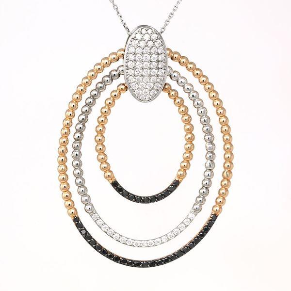 Picture of Diamond Swirl Pendant