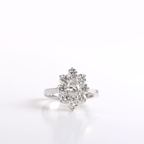 Picture of The Absolutely Divine Marquise Ring
