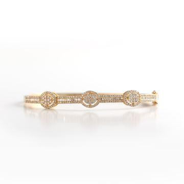 Picture of Classy Diamond Bangles
