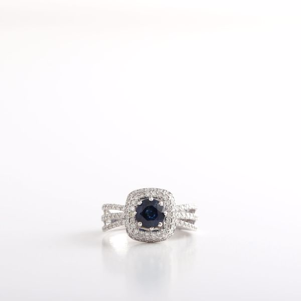 Picture of The Ideal Sapphire & Diamond Ring