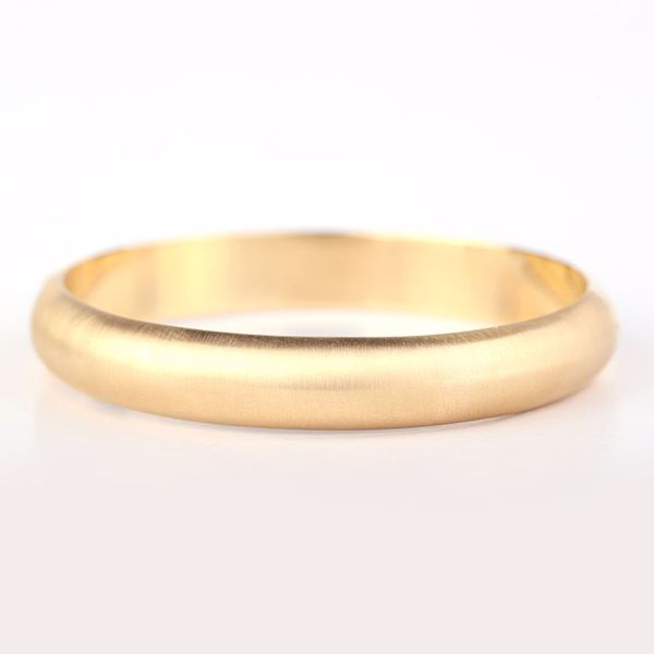 J.R.S. Gold Bangle Front View