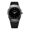 All Black Ultra Thin 40 mm Front View