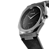 All Black Ultra Thin 40 mm Side View