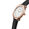 White&Rose Gold Super Slim 41 mm Side View