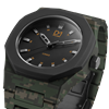 Green Camo Polycarbon 40.5 mm Side View