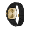 Black&Gold Polycarbon  40.5 mm Back Side View