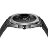 All Black Ultra Thin 40 mm Top View