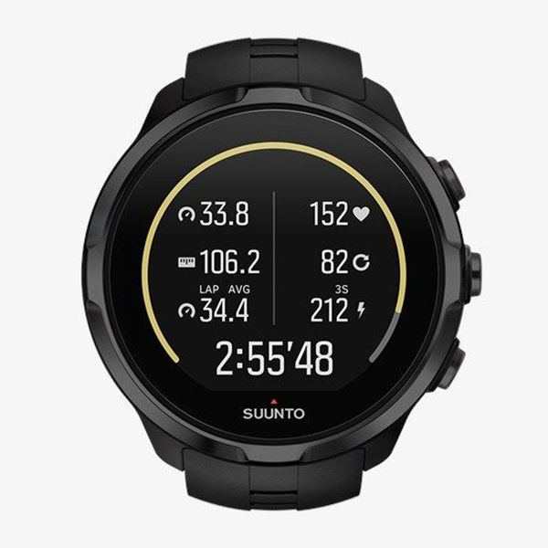 Spartan Sport Wrist HR All Black Front View