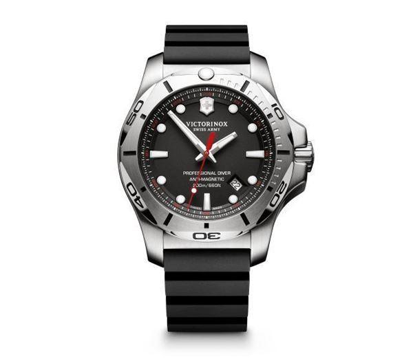 I.N.O.X. Professional Diver Black Front View