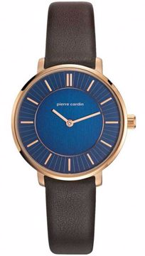 Brochant Rose Gold-Tone Ladies Leather Front View