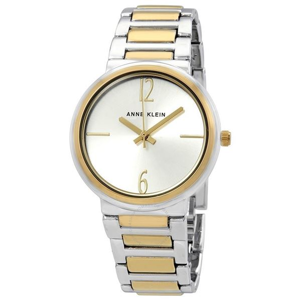 Silver Dial Two-tone Front View