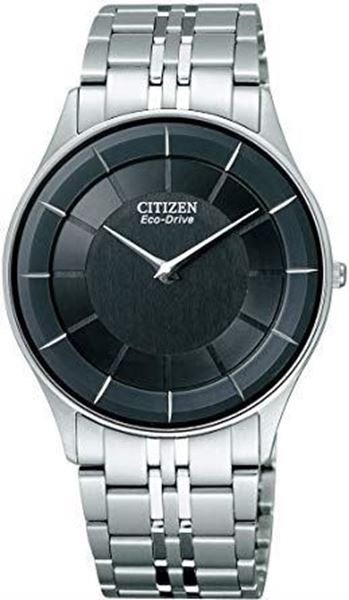 Sapphire Stiletto Ultra Thin Black Dial Front View