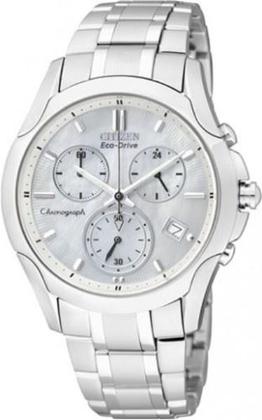 Chronograph Stainless Steel Front View