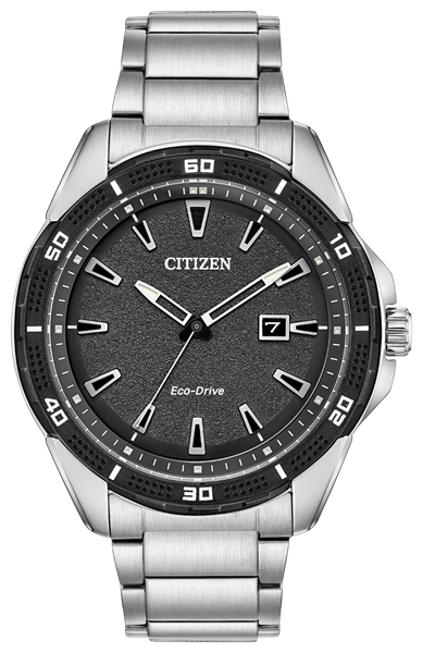 Action Required  Black Dial Front View