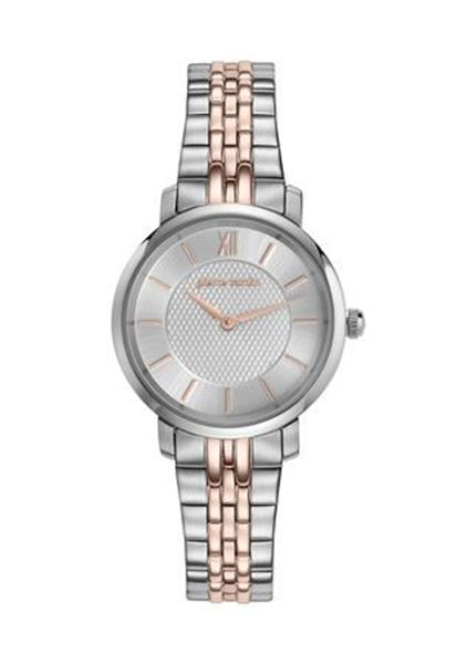 Ladies Silver&Rose Gold Dial Front View