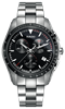Hyper Chrome Chronograph Black Dial Front View