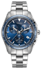 Hyper Chrome Chronograph Blue Dial Front View