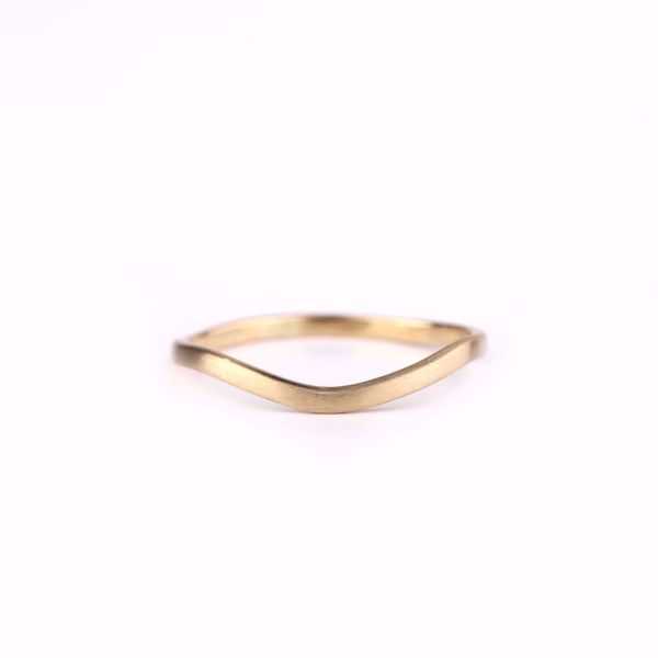 J.R.S. Wavy Ring Front View