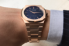 D1 Milano Ultra Thin Bracelet 40 MM Rose Gold In Hand