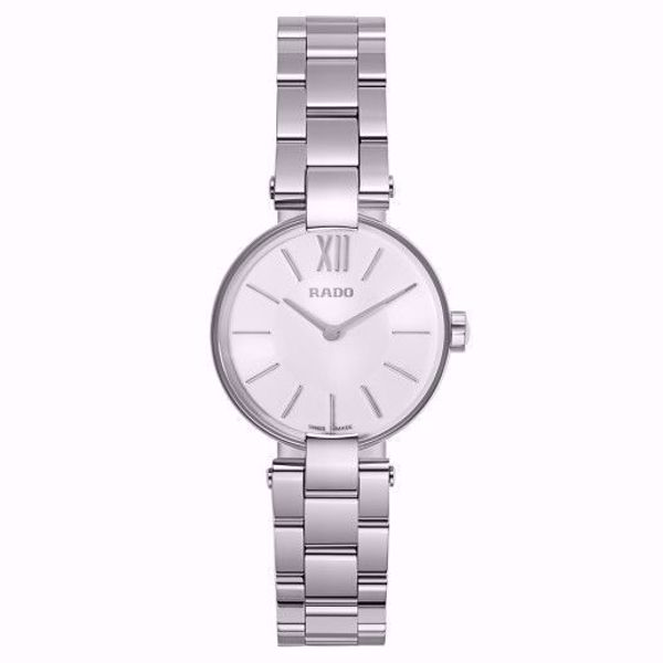 Rado Coupole Stainless Steel Ladies Watch Front View