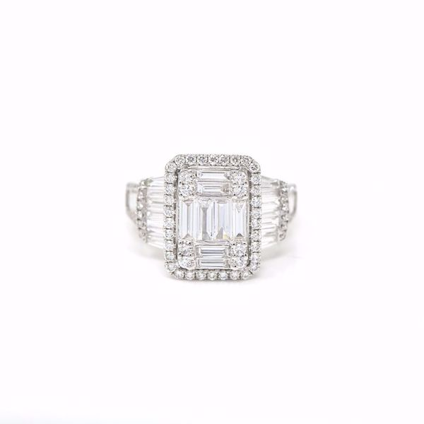 Picture of Distinguished Diamond Solitaire Ring