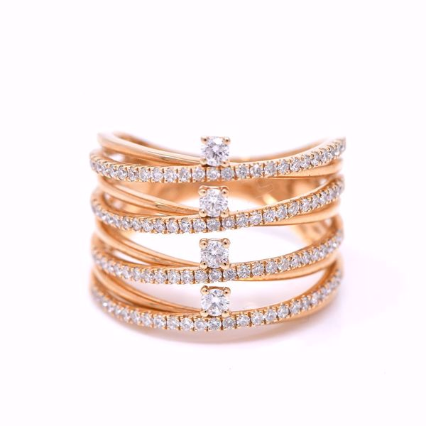 Picture of All In One Stacked Diamond Ring