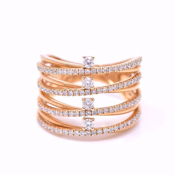 صورة All In One Stacked Diamond Ring