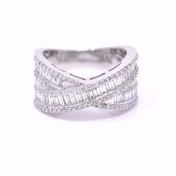 Picture of The Perfect Cross Diamond Alliance Ring