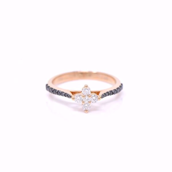 Picture of Cute Small Flower Diamond Ring