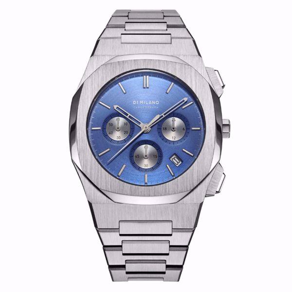 صورة D1 Milano Ionic Blue Chronograph 41.5 mm