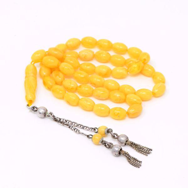 صورة Amber Prayer Beads