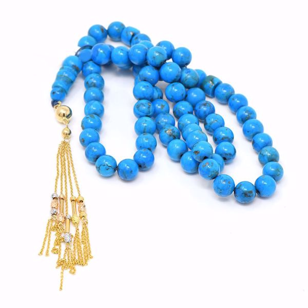 صورة Turquoise Prayer Beads