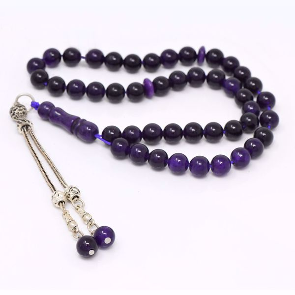 Picture of Agate Black Prayer Beads