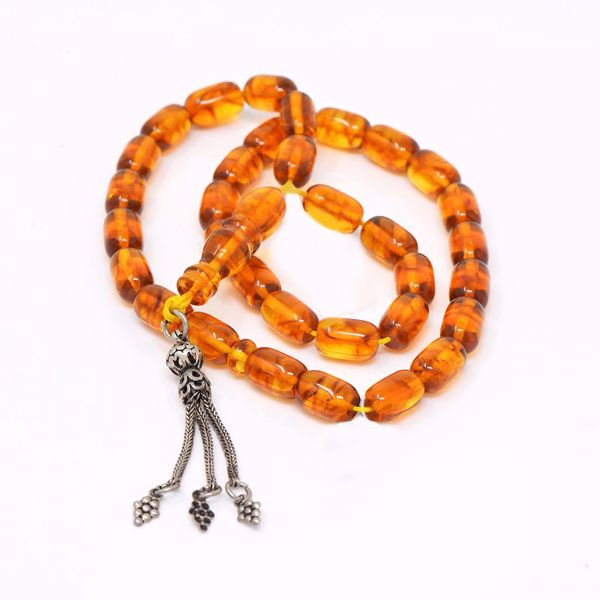 Picture of Amber Prayer Beads