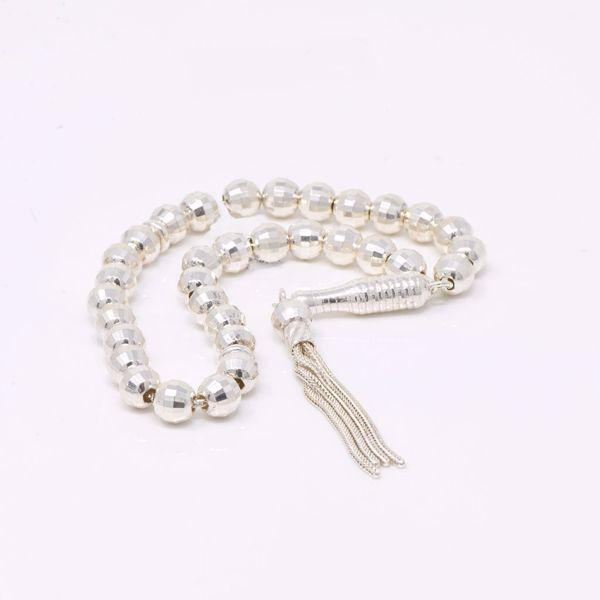 صورة Silver Prayer Beads