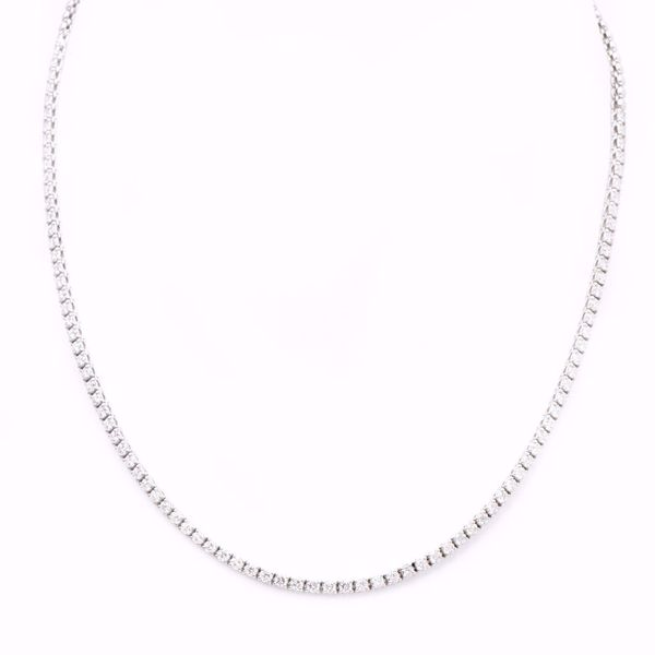 Picture of The Timeless Rivière Diamond Necklace