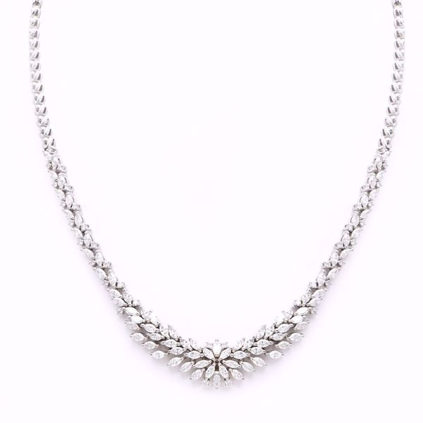 Picture of Gorgeous White Diamond Necklace