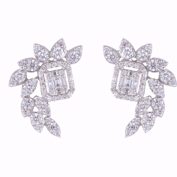 Picture of Outstanding Diamond Wings Earrings