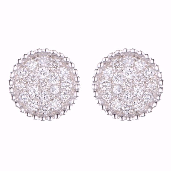 Picture of Round Diamond Earrings