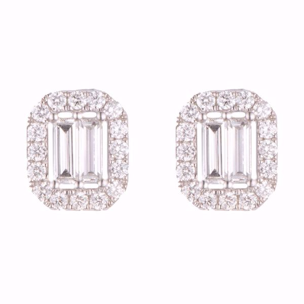 Picture of Emerald Cut Earrings