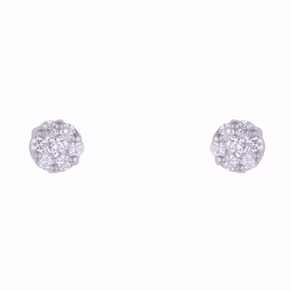 Picture of Diamond Illusion Earrings