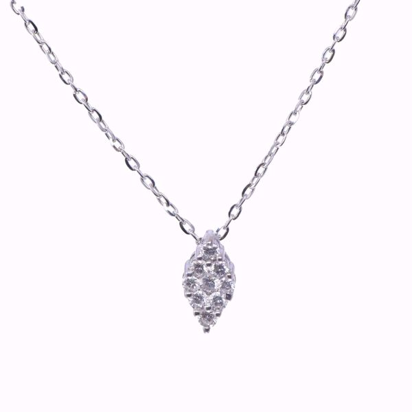 Picture of The Classic Pave Diamond Necklace