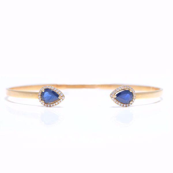 Picture of Sapphire & Diamond Bangle