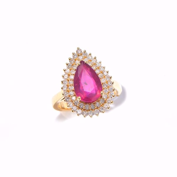Picture of Eternal Ruby & Diamond Ring