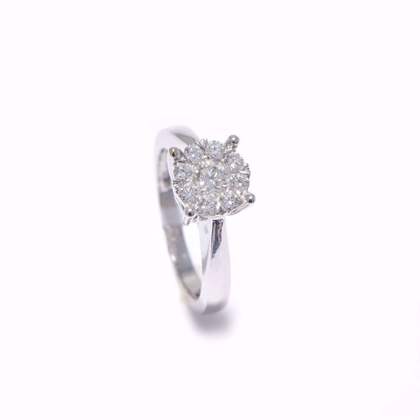Picture of Stunning White Diamond Solitaire
