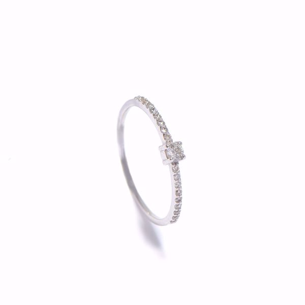 Picture of Simple Diamond Ring