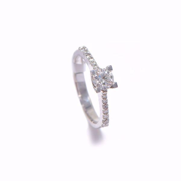 Picture of Ravishing Diamond Solitaire Ring