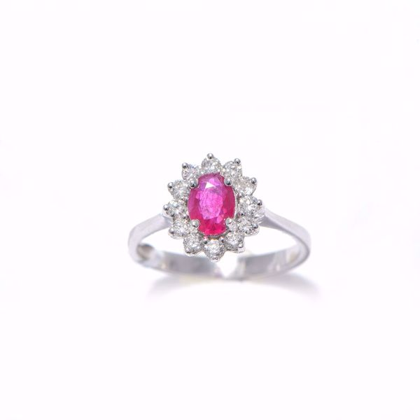 Picture of Royal Diamond & Ruby Ring