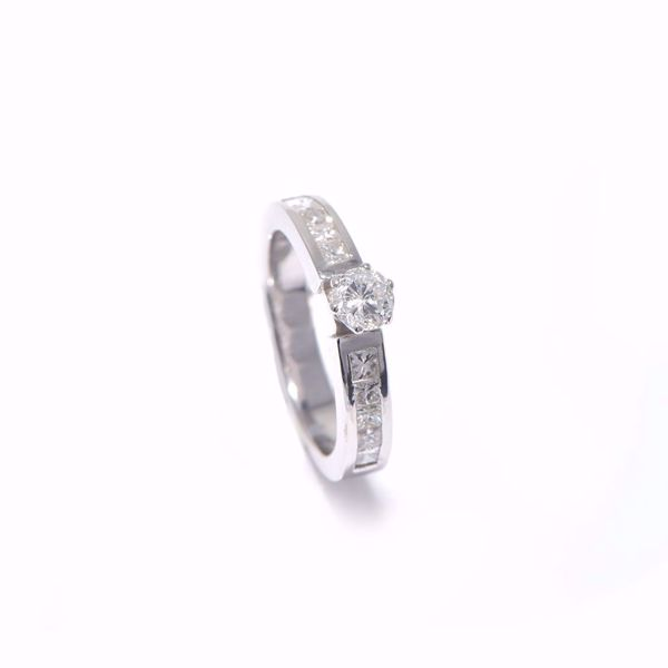Picture of Classy Diamond Solitaire Ring