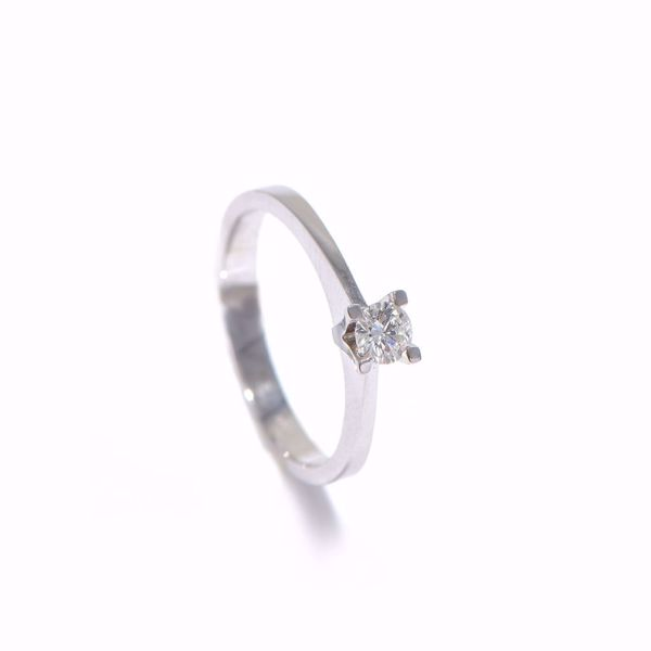 Picture of Aesthetic Diamond Solitaire Ring